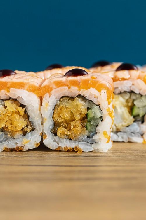 Shrimp & Salmon Roll